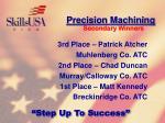 precision machining111