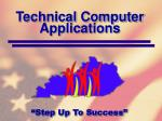 technical computer applications