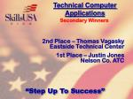 technical computer applications131