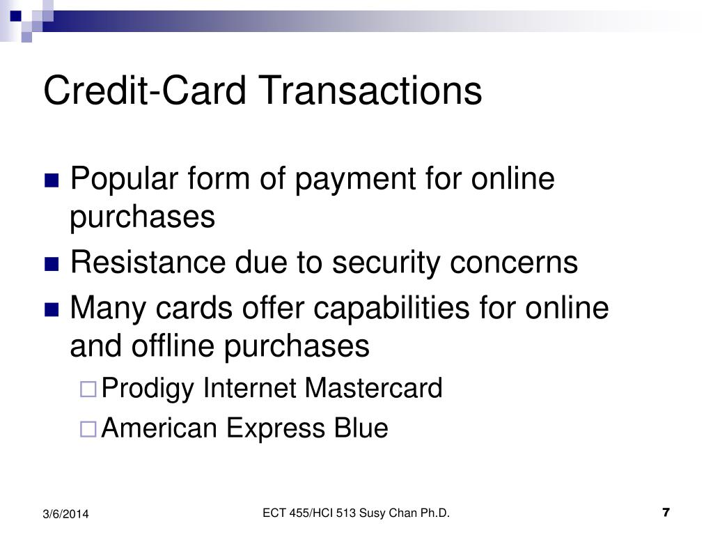 Credit-Card Transactions