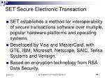 set secure electronic transaction31