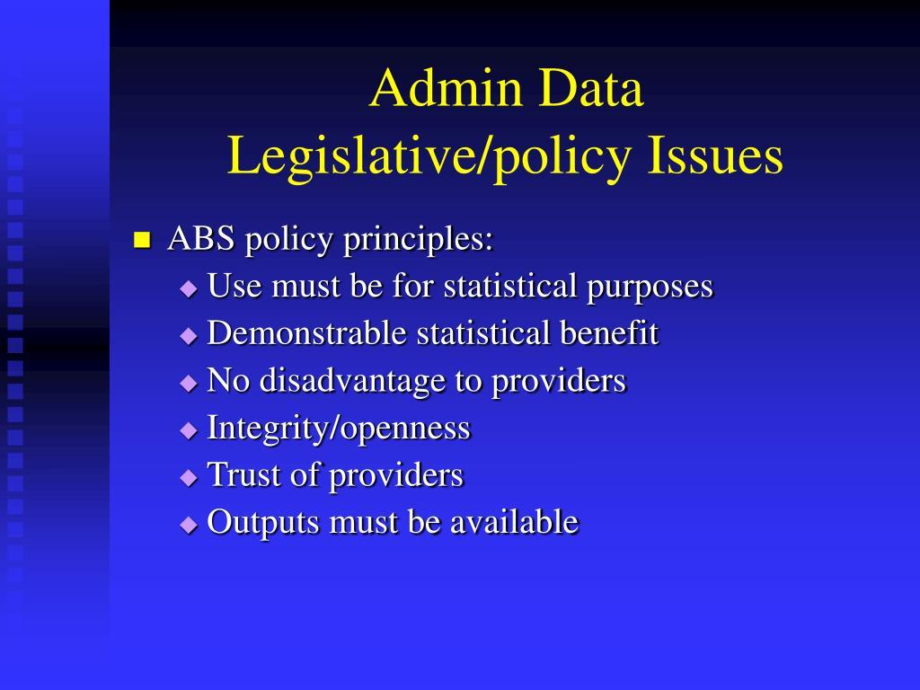 Admin Data