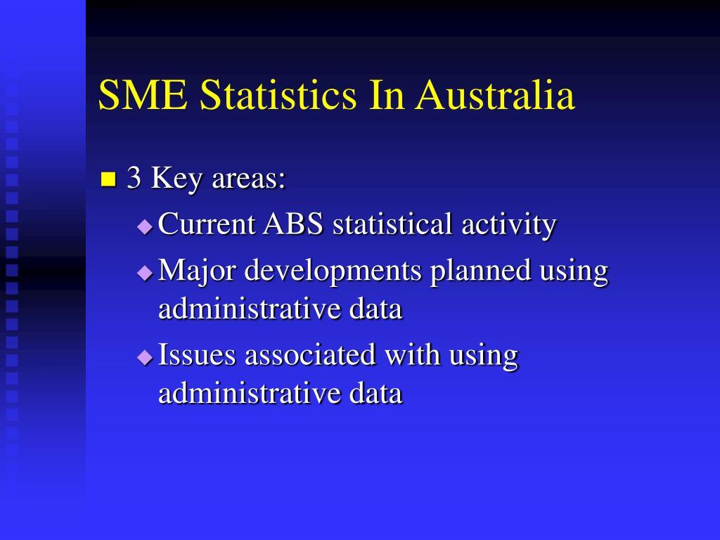 SME Statistics In Australia