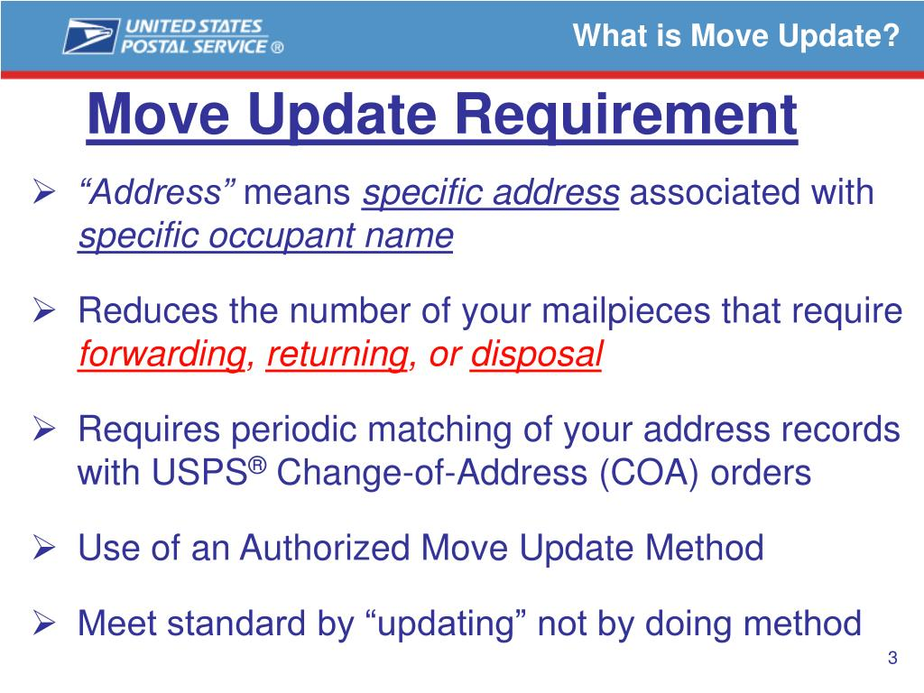 What is Move Update?