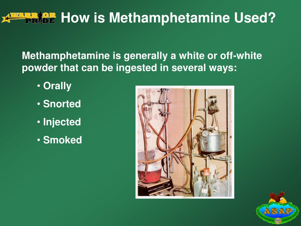 How is Methamphetamine Used?