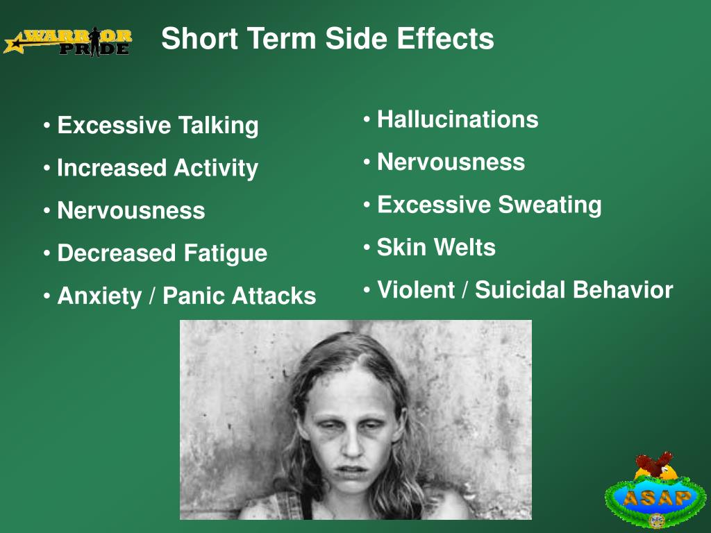 Short Term Side Effects