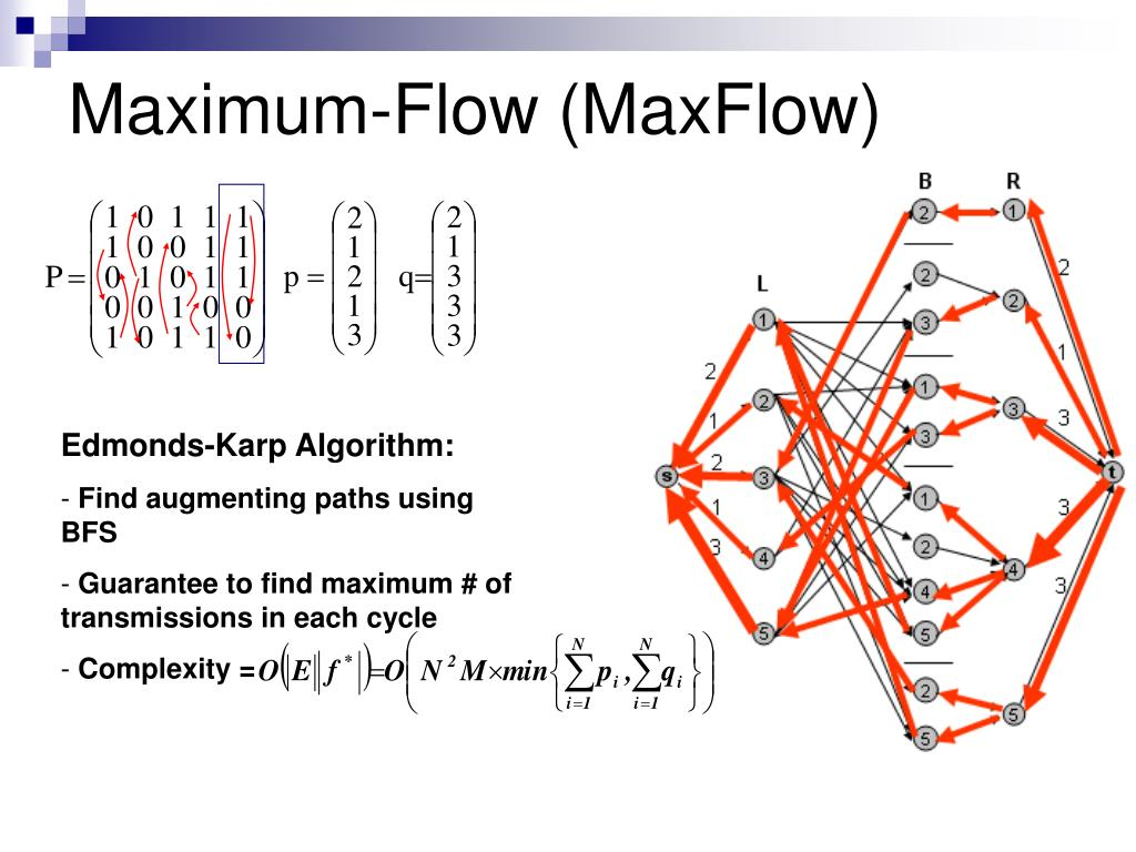 Maximum-Flow (MaxFlow)