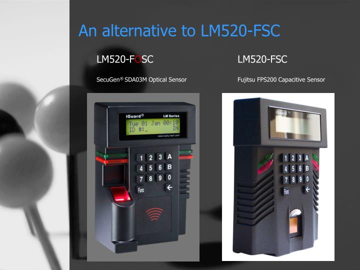 An alternative to lm520 fsc