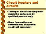 circuit breakers and circuits38