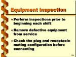 equipment inspection30