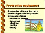 protective equipment41