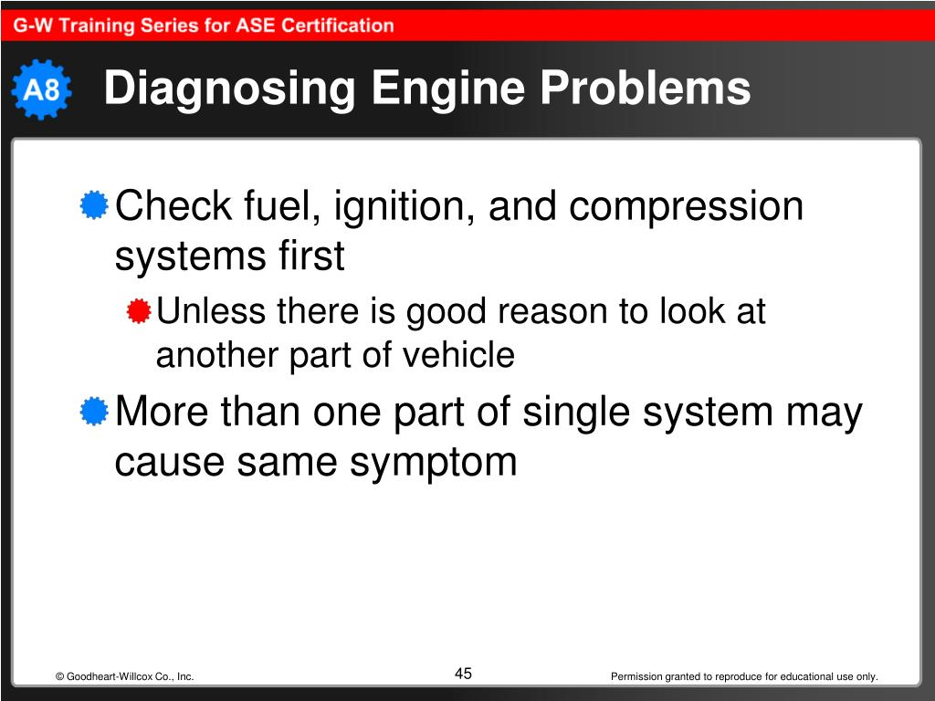 Diagnosing Engine Problems