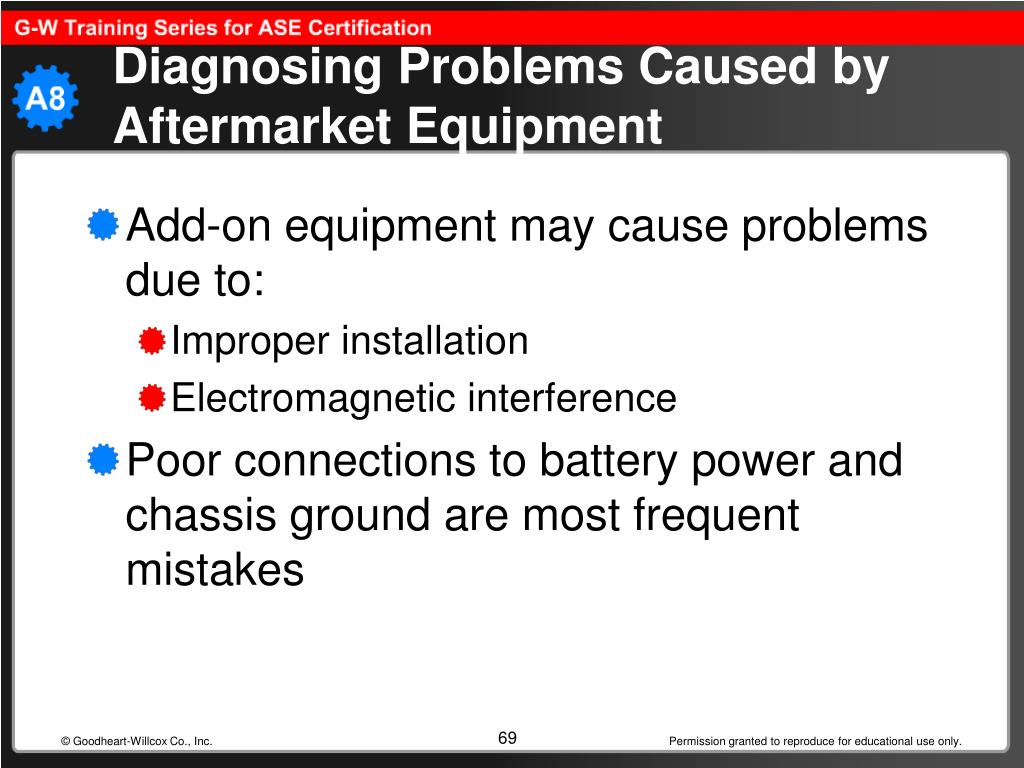 Diagnosing Problems Caused by Aftermarket Equipment