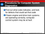 procedures for computer system diagnostics56