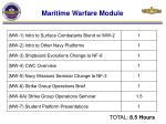 maritime warfare module
