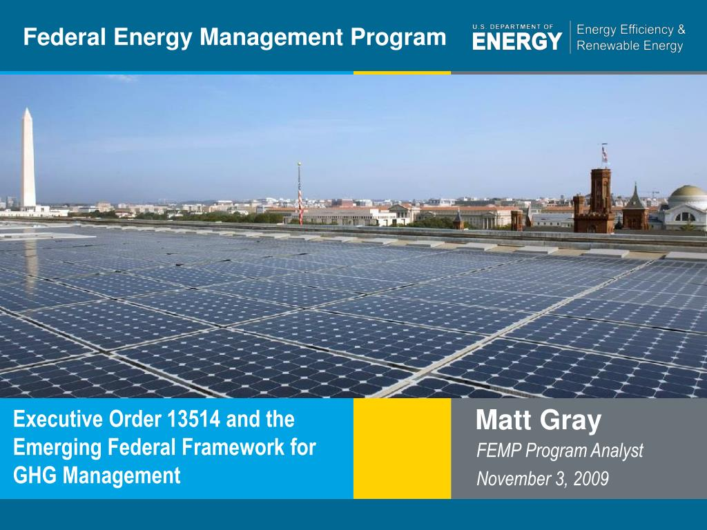 Federal Energy Management Program