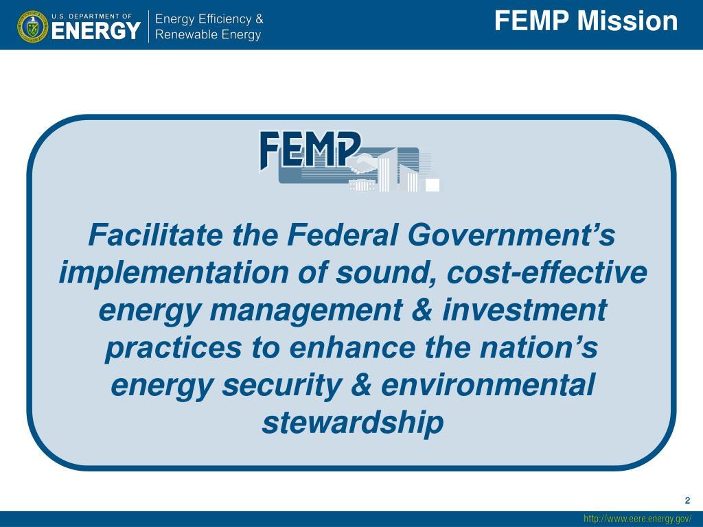 FEMP Mission