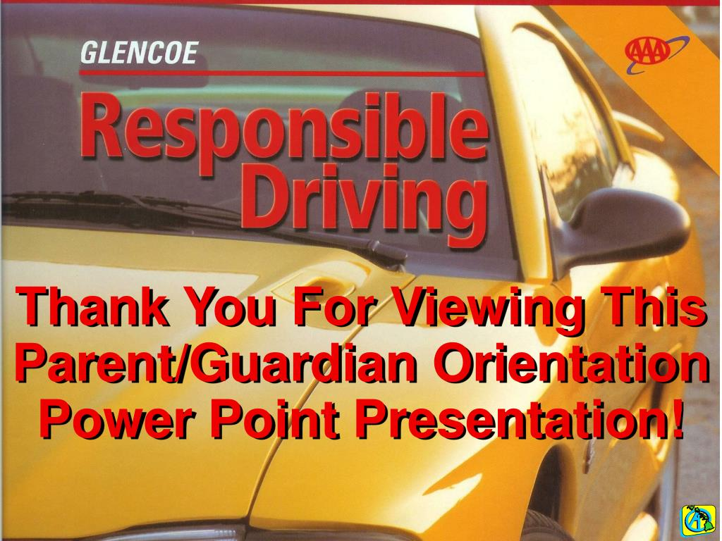 Thank You For Viewing This Parent/Guardian Orientation  Power Point Presentation!