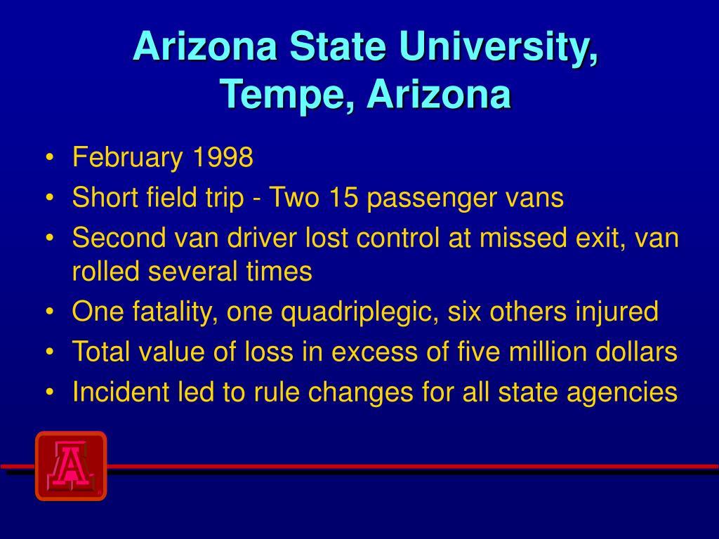 Arizona State University,