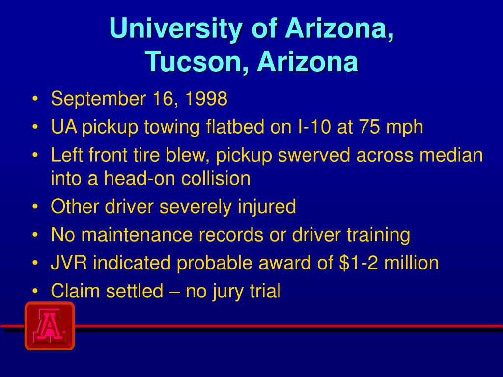 University of Arizona,