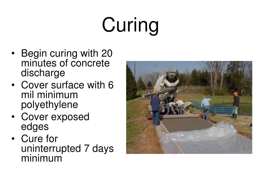 Curing