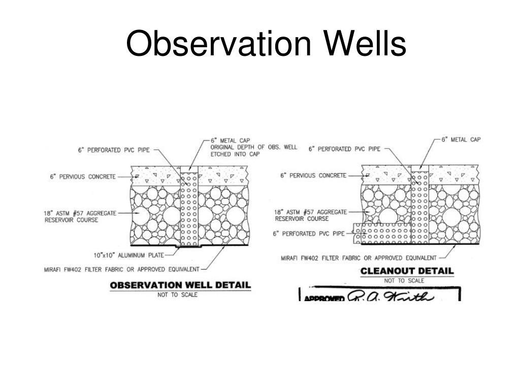 Observation Wells