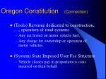 oregon constitution connection