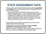 state assessment data9