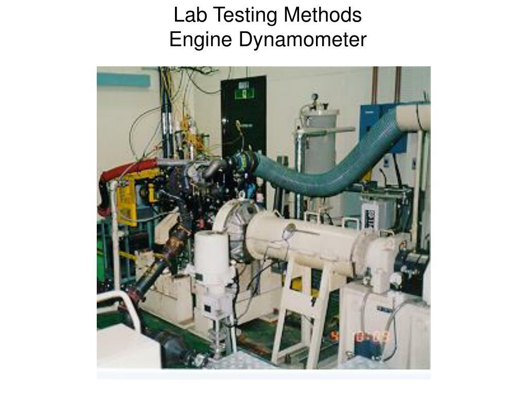Lab Testing Methods