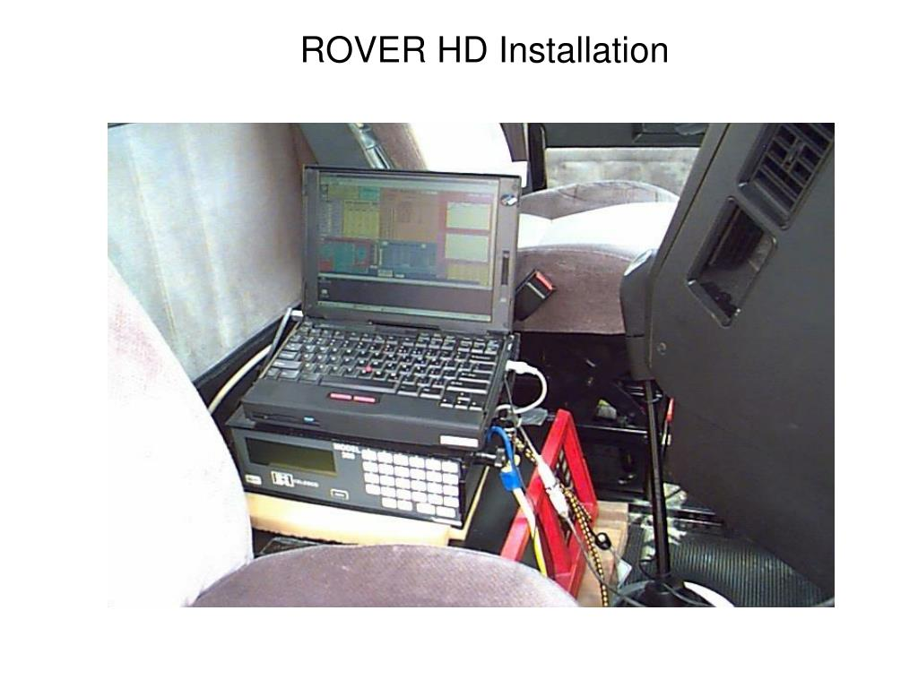 ROVER HD Installation