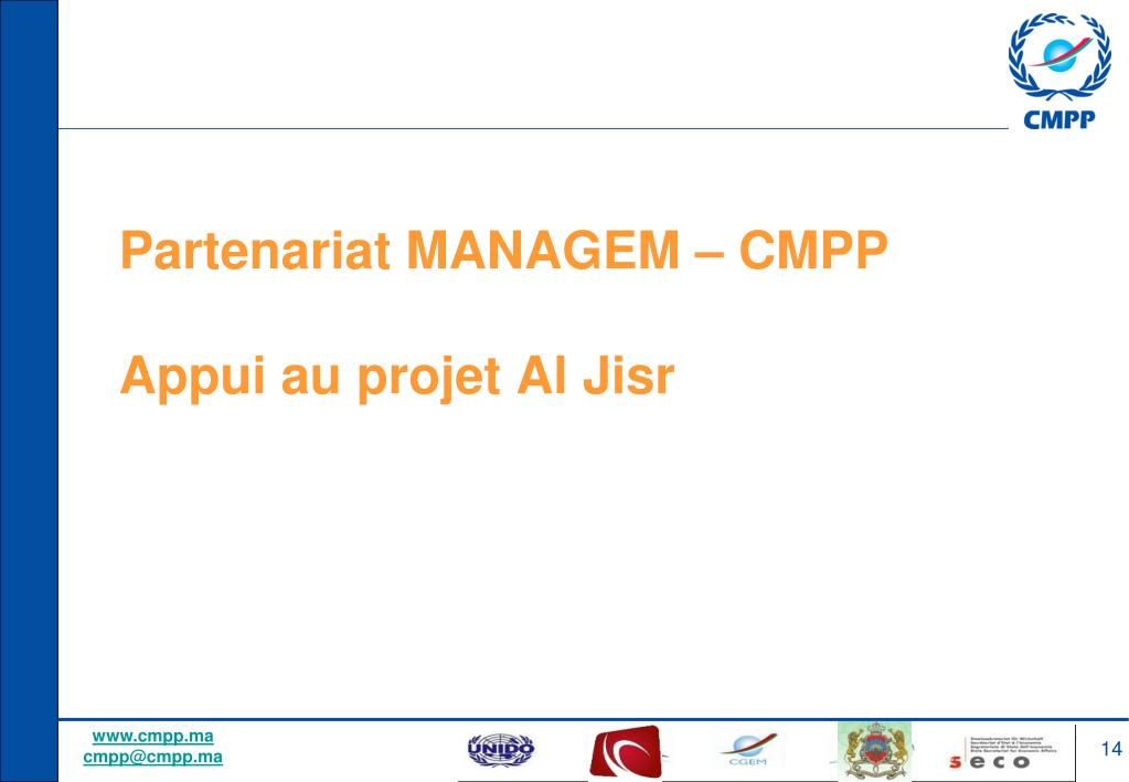 Partenariat MANAGEM – CMPP