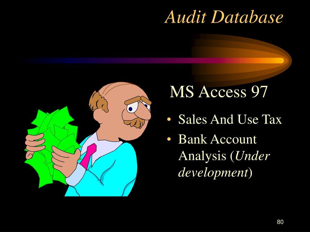 Audit Database