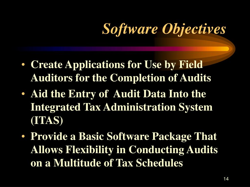 Software Objectives