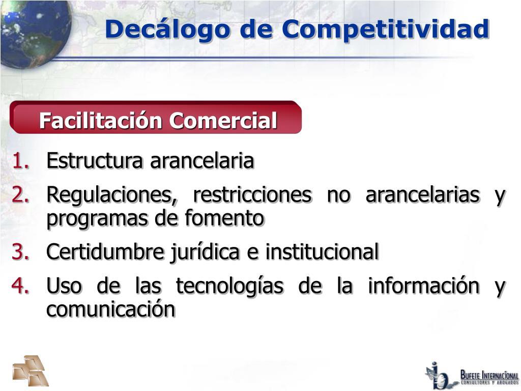 Decálogo de Competitividad