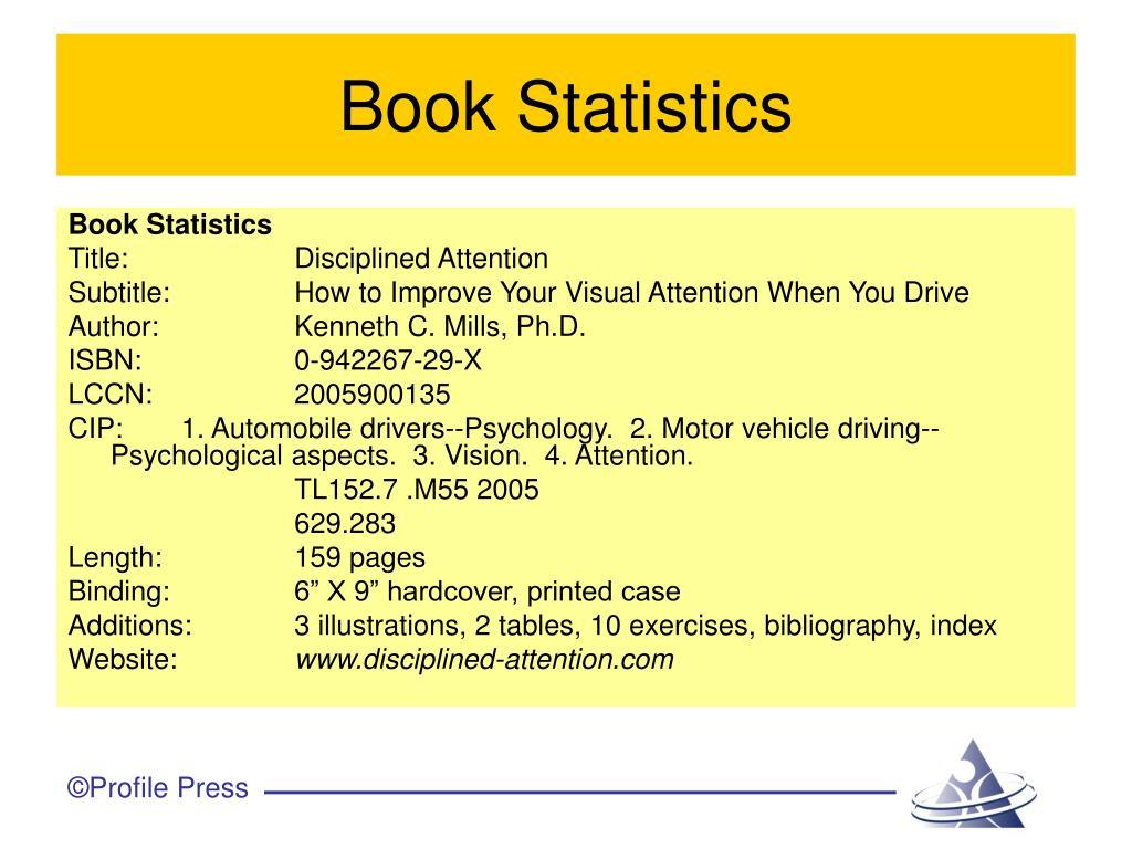 Book Statistics