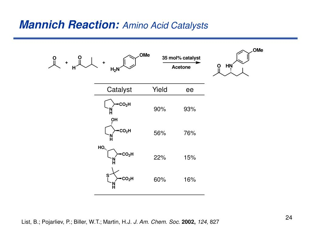 Mannich Reaction: