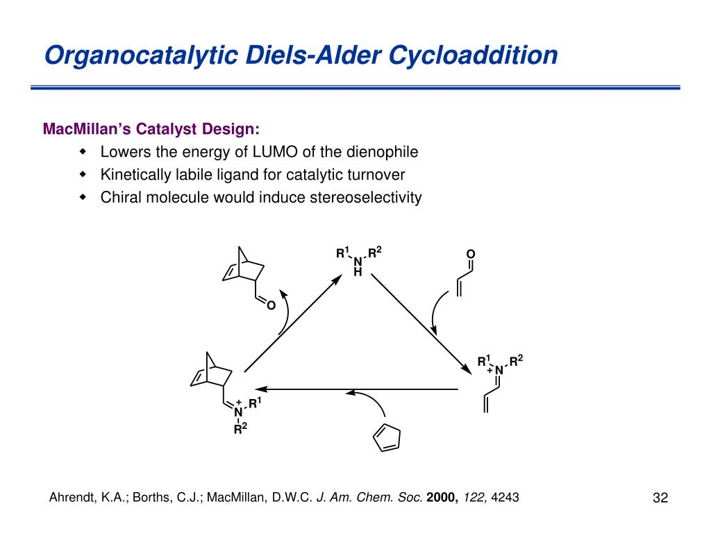 Organocatalytic Diels-Alder Cycloaddition