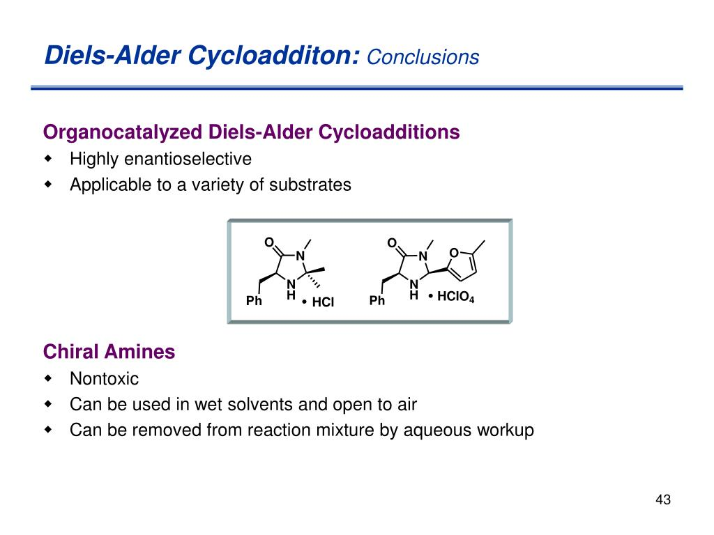 Diels-Alder Cycloadditon: