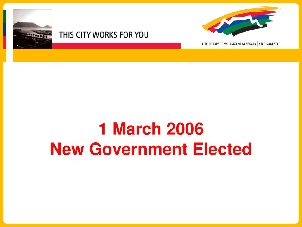 1 March 2006