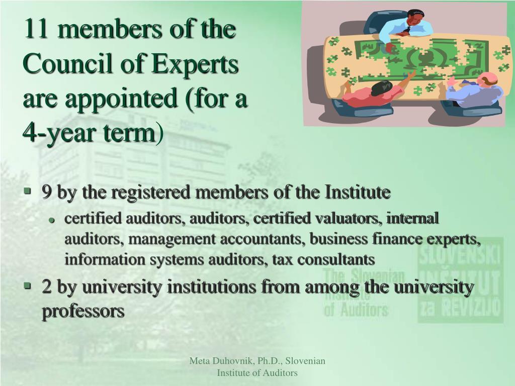 11 members of the