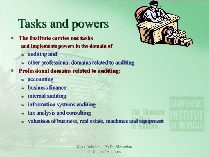 Tasks and powers