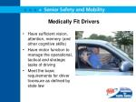 medically fit drivers