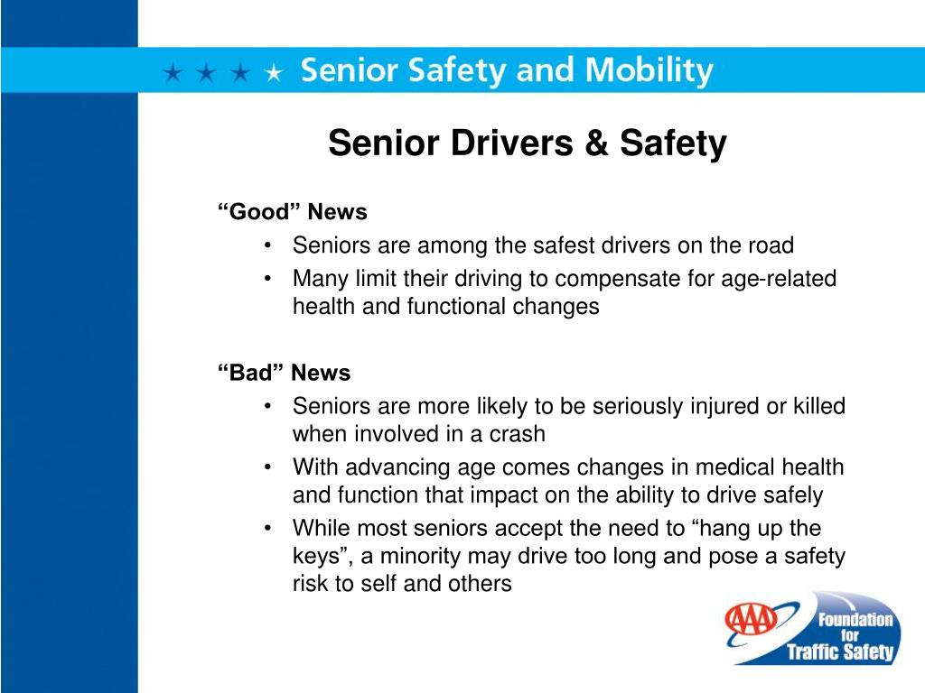 Senior Drivers & Safety
