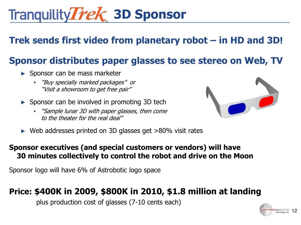 3D Sponsor