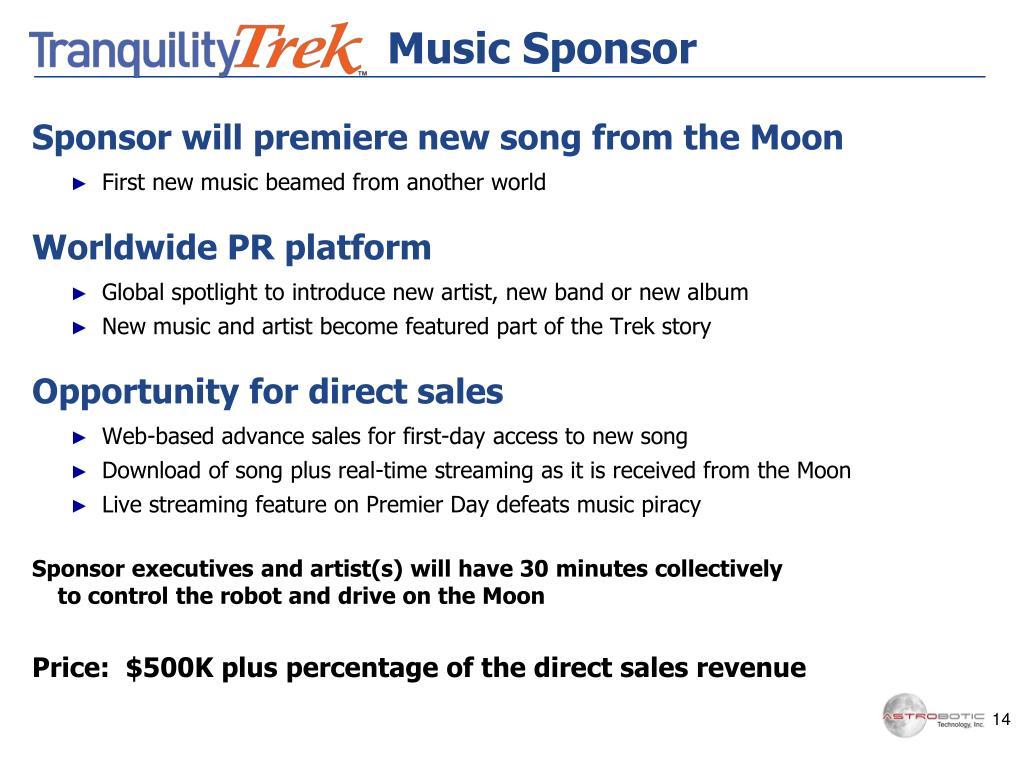 Music Sponsor