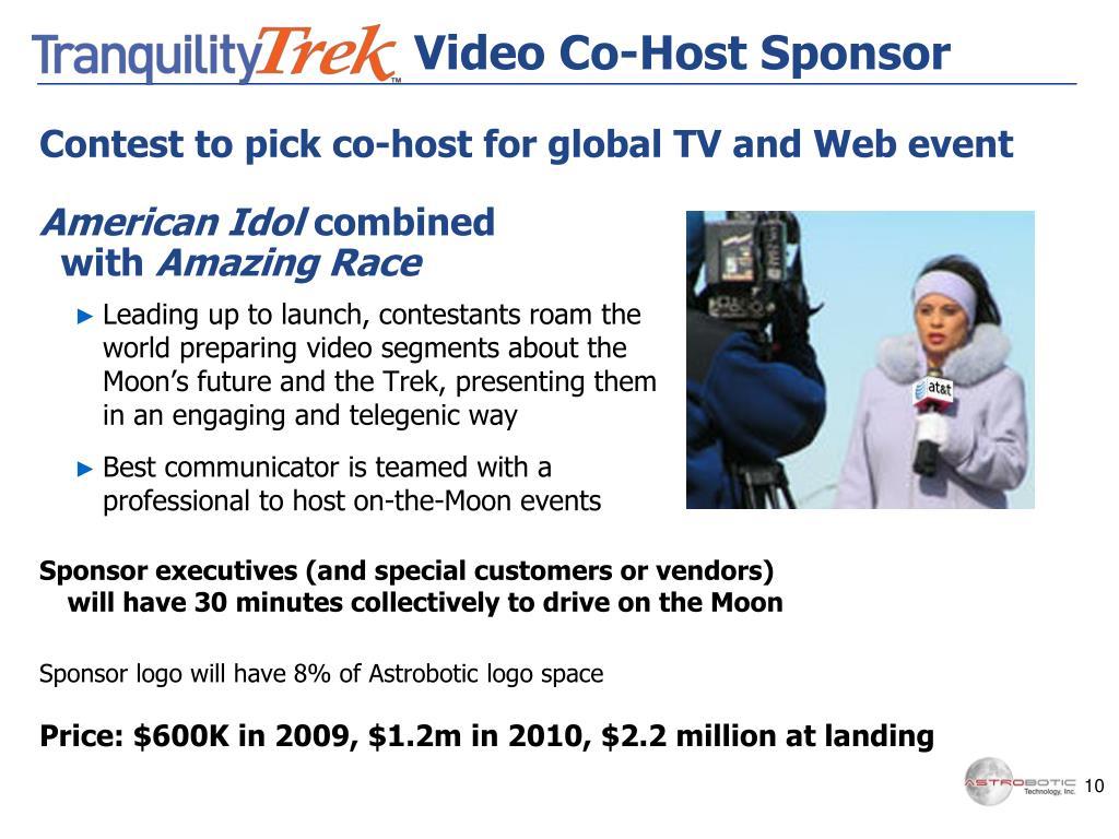 Video Co-Host Sponsor
