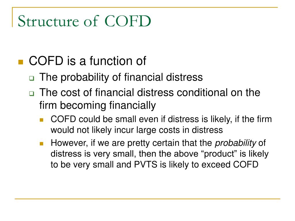 Structure of COFD