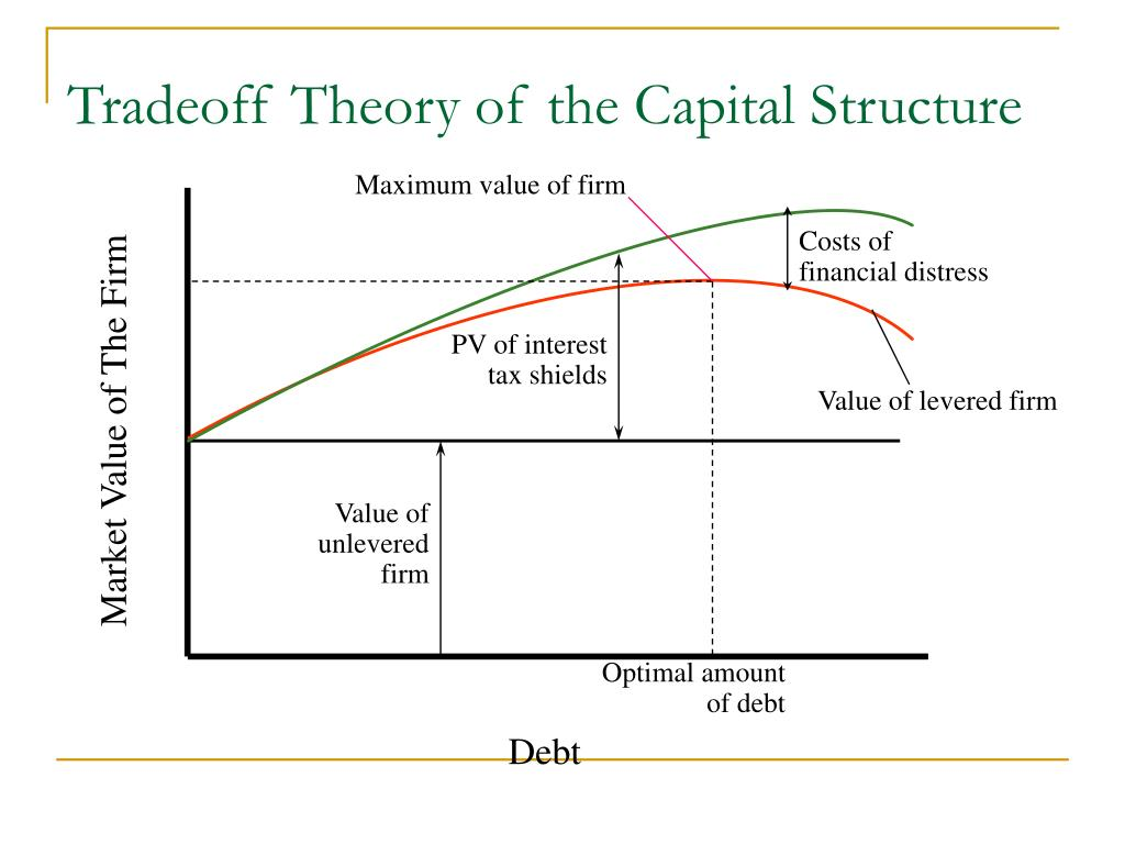 Tradeoff Theory of the Capital Structure