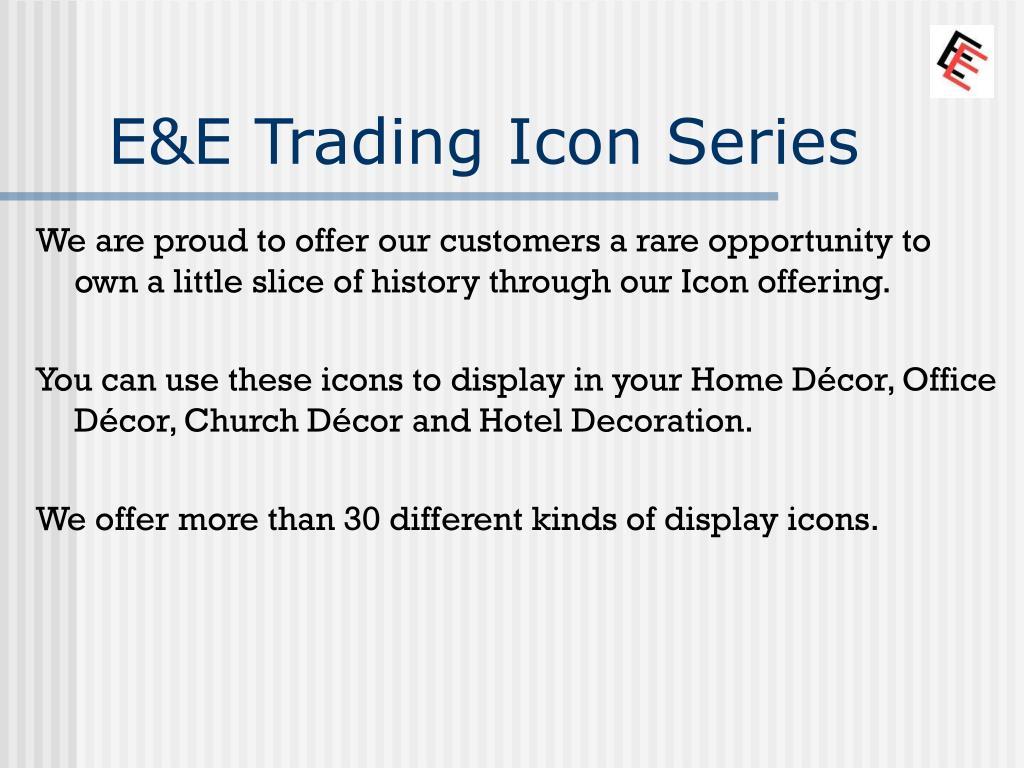 E&E Trading Icon Series