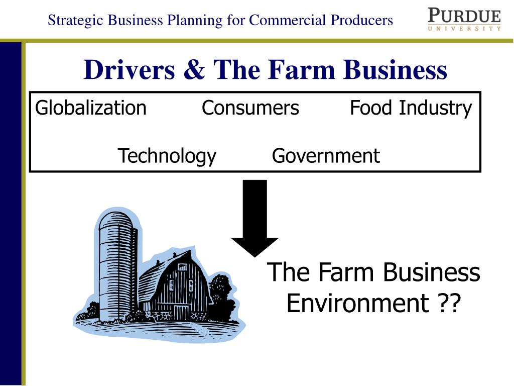 Drivers & The Farm Business